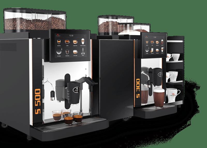 Kaffeevollautomat Rex Royal S300 und S500