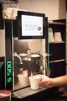 Gastro Kaffeemaschine im Landgasthof Wartegg - Referenzen Brugger Kaffeeservice